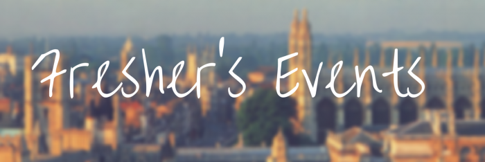 Freshers events header 2015