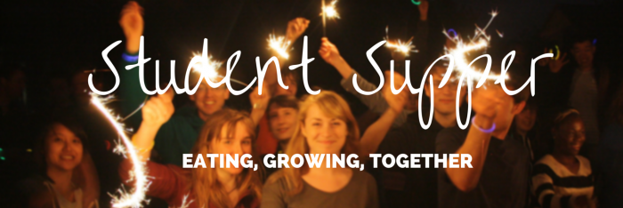 Student Supper Banner